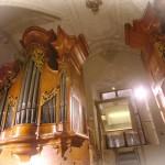 varhany v kostele Nejsvětějšího Salvátora